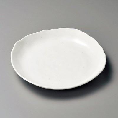 和食器 粉引マット 皿 23.5×23.5×3.5cm プレート うつわ おさら おうち 陶器 カフェ おしゃれ 軽井沢 春日井