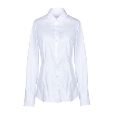 ROBERT FRIEDMAN シャツ ホワイト S コットン 75% / ナイロン 23% / ポリウレタン 2% シャツ