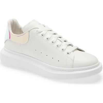 アレキサンダー マックイーン ALEXANDER MCQUEEN レディース スニーカー シューズ・靴 Oversize Sneaker White/Shock Pink