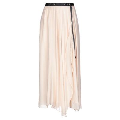 RAME 7分丈スカート ライトピンク 0 レーヨン 70% / シルク 30% 7分丈スカート