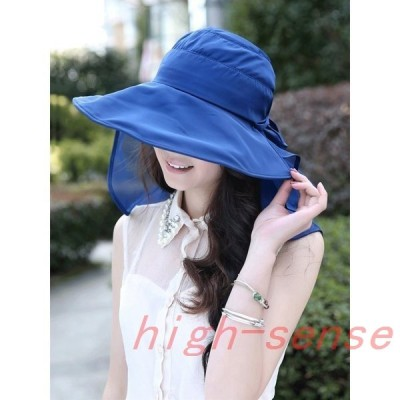 帽子UVカット紫外線対策用ハット帽子レディース帽子キャンプ・アウトドア・帽子レディース