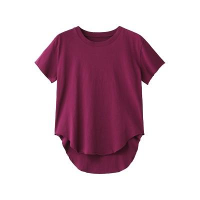 Frank&Eileen フランク&アイリーン 【tee lab】HERITAGE JERSEY コットンTシャツ レディース ピンク XS