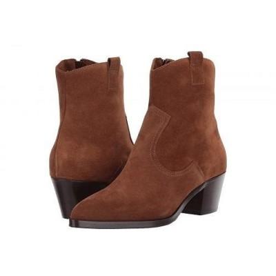 La Canadienne ラカナディアン レディース 女性用 シューズ 靴 ブーツ アンクルブーツ ショート Pepper - Brandy Suede