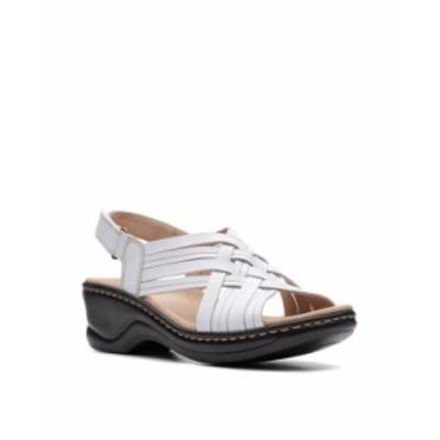 クラークス レディース サンダル シューズ Collection Women's Lexi Carmen Sandal White Leather