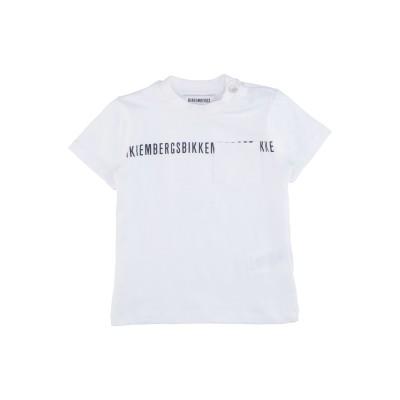 ビッケンバーグ BIKKEMBERGS T シャツ ホワイト 9 コットン 95% / ポリウレタン 5% T シャツ
