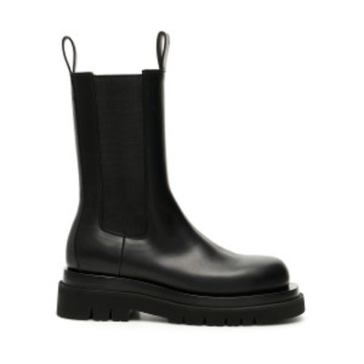 BOTTEGA VENETA/ボッテガ ヴェネタ Black Bottega veneta bv lug chelsea leather boots レディース 春夏2021 592045 VIFH0 ik