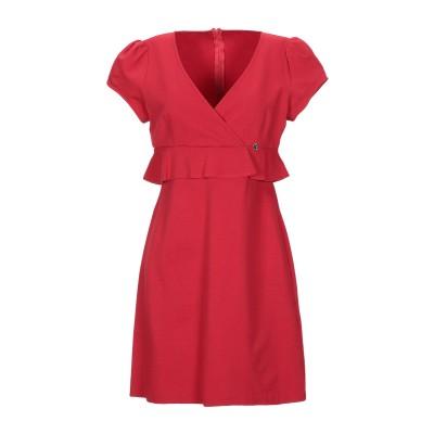 ガウディ GAUDÌ ミニワンピース&ドレス レッド 44 レーヨン 60% / ナイロン 32% / ポリウレタン 8% ミニワンピース&ドレス