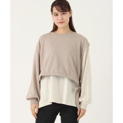 tシャツ Tシャツ 【gleam】アシンメトリーデザインプルオーバー