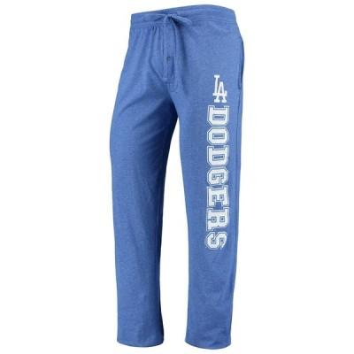 Los Angeles Dodgers Concepts Sport Quest Pants - Heathered Royal