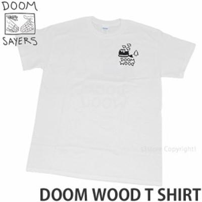 ドゥーム セイヤーズ DOOM WOOD T SHIRT カラー:White