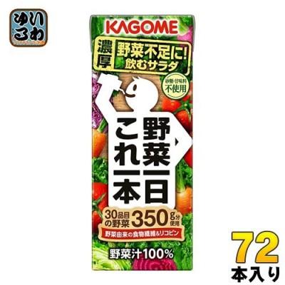カゴメ 野菜一日これ一本 200ml 紙パック 48本 (24本入×2 まとめ買い) 野菜ジュース