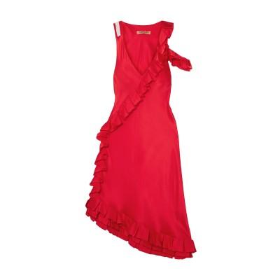 MAGGIE MARILYN 7分丈ワンピース・ドレス レッド 6 シルク 100% 7分丈ワンピース・ドレス