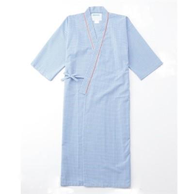 289 KAZEN 患者衣ガウン式 ナースウェア・白衣・介護ウェア