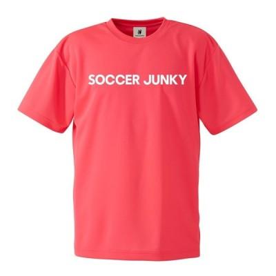 Soccer Junky/サッカージャンキー/プラTEE BasicSJ+9(蛍光ピンク)/SJ20213