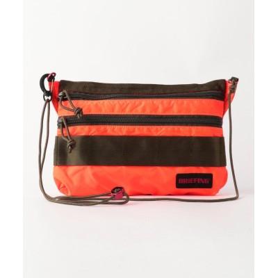 【ノーリーズ】 SACOCHE S SL PACKABLE (BRM182201) メンズ オレンジ F NOLLEY'S