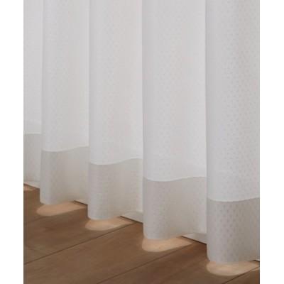 ドット柄レースカーテン レースカーテン・ボイルカーテン, Curtains, sheer curtains, net curtains(ニッセン、nissen)