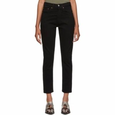 リーバイス Levis レディース ジーンズ・デニム ボトムス・パンツ black 501 skinny jeans Black heart