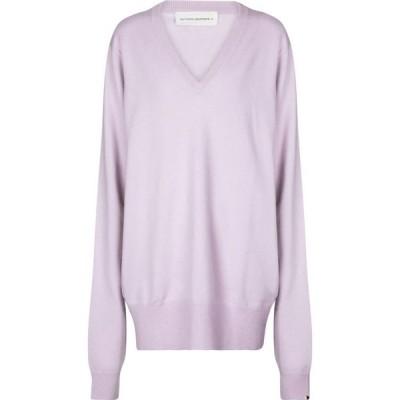 エクストリーム カシミア Extreme Cashmere レディース ニット・セーター トップス N 162 Claim cashmere sweater Lavender