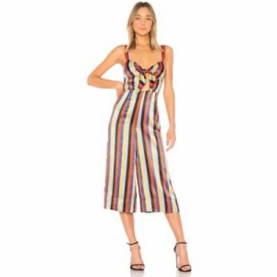 ハウスオブハーロウ1960 オールインワン x REVOLVE Lolita Jumpsuit Bari Stripe
