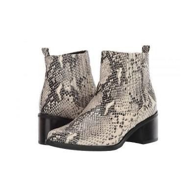 Blondo ブロンド レディース 女性用 シューズ 靴 ブーツ アンクルブーツ ショート Elvina Waterproof Bootie - Natural Snake
