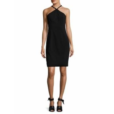カーメンマークバルボインフュージョン レディース ワンピース Crepe Embellished Sheath Dress
