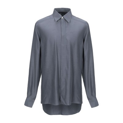 DANESI シャツ グレー 38 レーヨン 100% シャツ