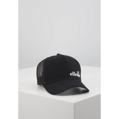エレッセ 帽子 メンズ アクセサリー KARO TRUCKER - Cap - black