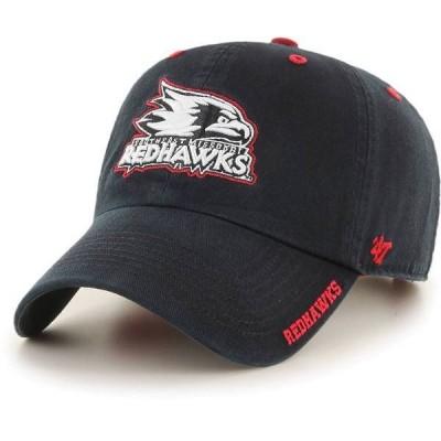 フォーティーセブン メンズ 帽子 アクセサリー '47 Men's Southeast Missouri State Redhawks Ice Clean Up Adjustable Black Hat