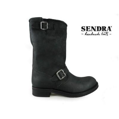 [限定SALE][500円クーポン]センドラ エンジニアブーツ ピノ 2944 ネグロ ブラック 黒 メンズ