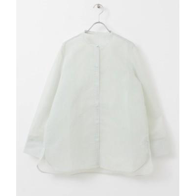 KBF / ストライプシースルーシャツ WOMEN トップス > シャツ/ブラウス