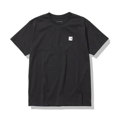 ノースフェイス THE NORTH FACE ショートスリーブ スモールボックスロゴティー(レディース)半袖Tシャツ S/S SML BOX LOGO T NTW32107-K ◆