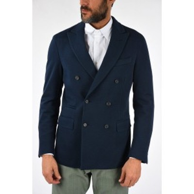CORNELIANI/コルネリアーニ Blue メンズ CC COLLECTION Cotton Blend MARLON Blazer dk