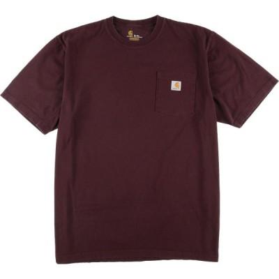 Carhartt ワンポイントロゴポケットTシャツ メンズXL /eaa049853