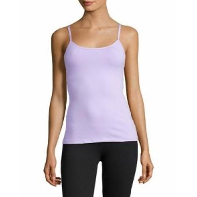 Beyond Yoga ビヨンドヨガ ファッション トップス Beyond Yoga Womens Kate Spade New York Cinched Back Bow Tank Xl Purple
