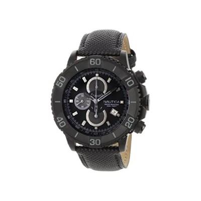 Nautica Men's N20062G NST 500 Black Polyurethane and Black Dial Watch