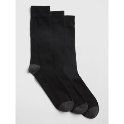 靴下 クルーソックス(3足組)