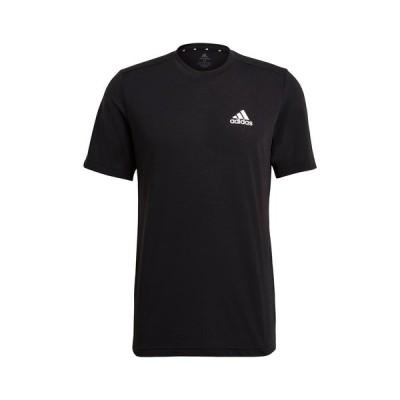 アディダス メンズ シャツ トップス Active T-Shirt BLACK/WHIT