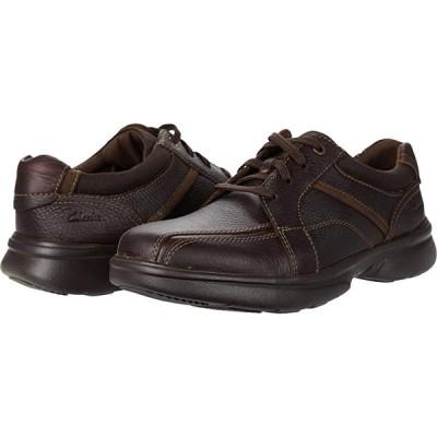 クラークス Bradley Walk メンズ オックスフォード Brown Tumbled Leather