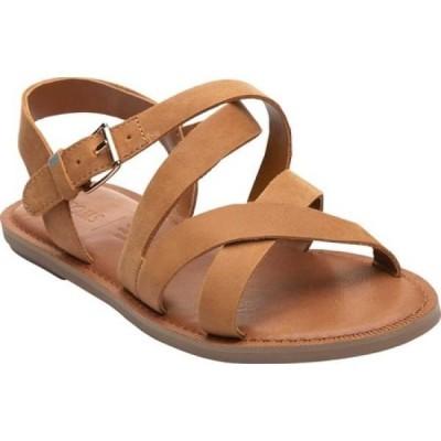 トムス TOMS レディース サンダル・ミュール シューズ・靴 Sicily Slingback Sandal Tan Leather