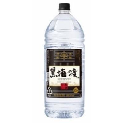 合同酒精 本格芋焼酎 黒海渡 25度 4000ml 4L 1本