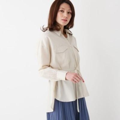 シューラルー(レディス)(SHOOLARUE Ladies)/【M-LL】TRブロードCPOシャツ