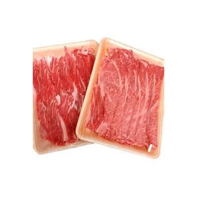 土浦市 ふるさと納税 【常陸牛】特選すきやき&しゃぶしゃぶセット計1kg