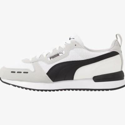 プーマ メンズ 靴 シューズ R78 UNISEX - Trainers - white/gray violet/black
