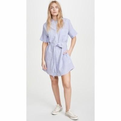 ディーエル1961 DL1961 レディース ワンピース シャツワンピース ワンピース・ドレス Cranberry Shirtdress Blue Stripe