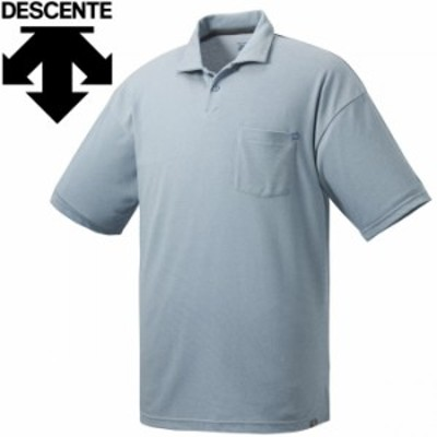 【メール便送料無料】デサント DAYS ポロシャツ メンズ DMMRJA77-BLM