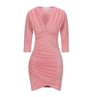 カオス KAOS ミニワンピース&ドレス ピンク S レーヨン 65% / ポリエステル 16% / ナイロン 14% / ポリウレタン 5% ミニ