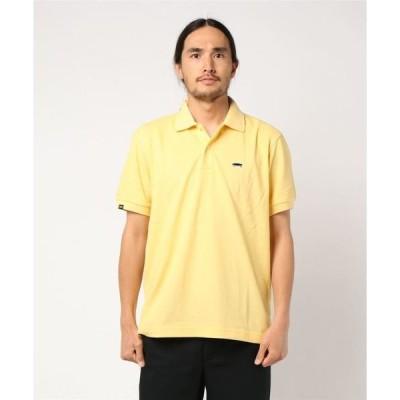 tシャツ Tシャツ VANS ヴァンズ VANS-SK8 Emb POLO SHIRT CD19SS-MS05 YELLOW