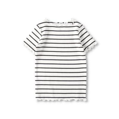 tシャツ Tシャツ テレコ半袖Tシャツ
