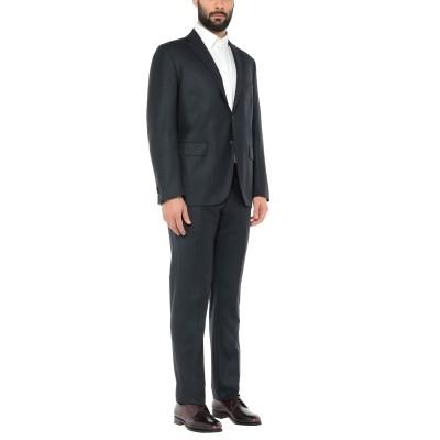 VITALE BARBERIS CANONICO スーツ ダークブルー 58 バージンウール 100% スーツ