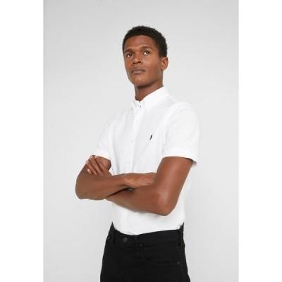 ラルフローレン シャツ メンズ トップス OXFORD SLIM FIT - Shirt - white